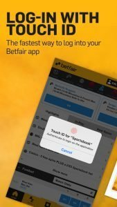 Betfair mobile app 3