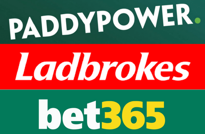 Paddy Power vs Ladbrokes vs Bet365: Choose your bookie here!