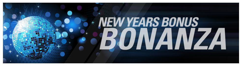 TVG New Years bonus bonanza