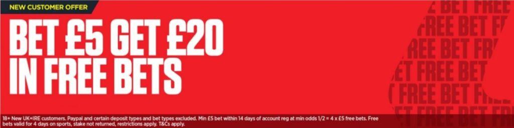 Ladbrokes Sportsbook Welcome Bonus
