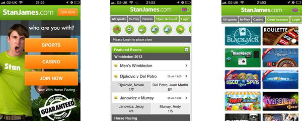 features app Stan James