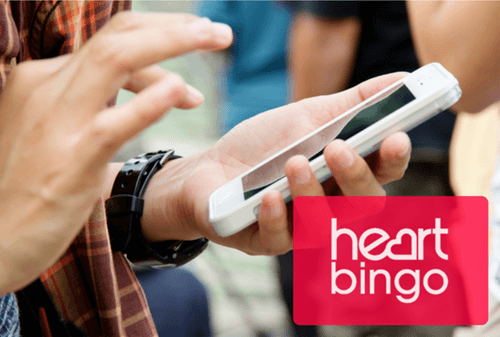 Heart Bingo mobile app review 2020