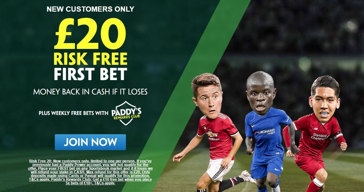 paddy power freebet