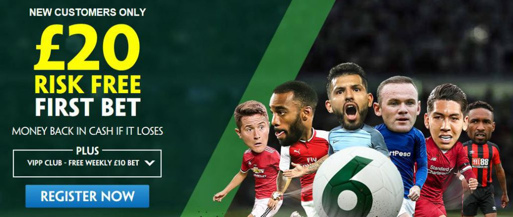 Paddy Power welcome offer banner
