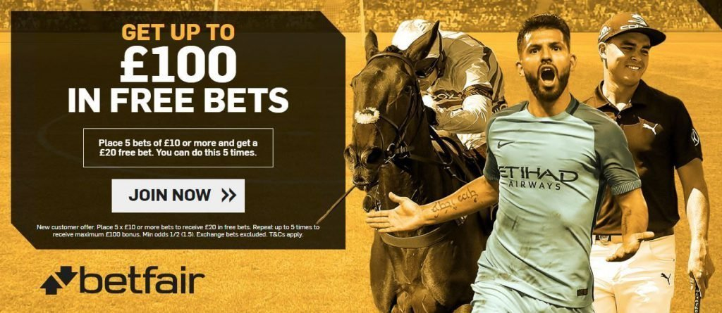 Betfair promo code offer