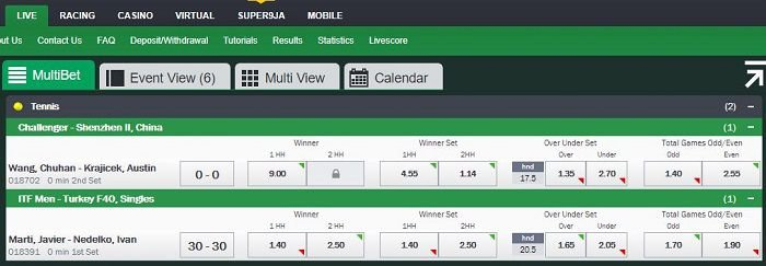 live betting Bet9ja