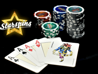 Starspins Review : Welcome Bonus, Games, and More