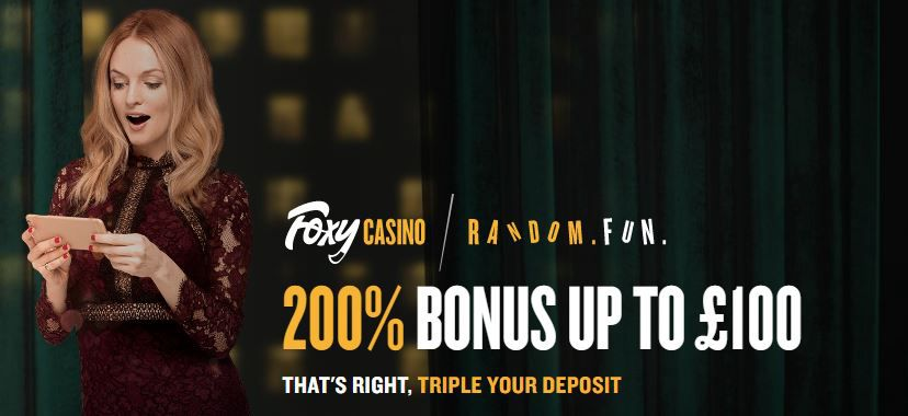 Welcome Bonus Foxy Casino