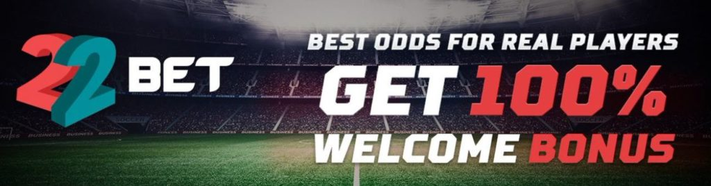 22bet sign up offer