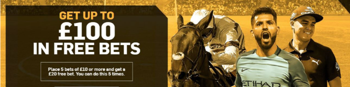 Betfair Sports Welcome Bonus