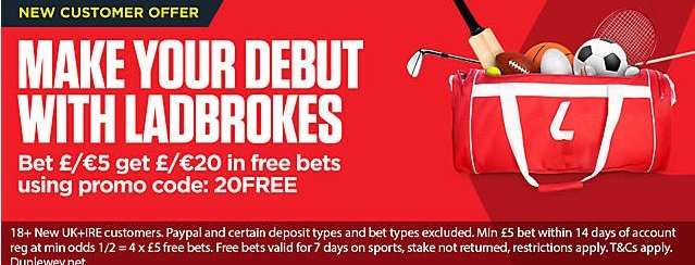 Ladbrokes Offer