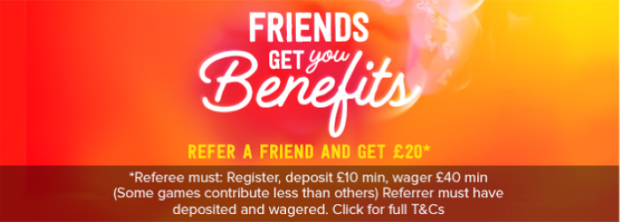 Virgin Games Refer a Friend