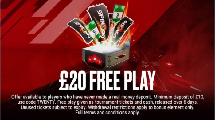 PokerStars Bonus Offer