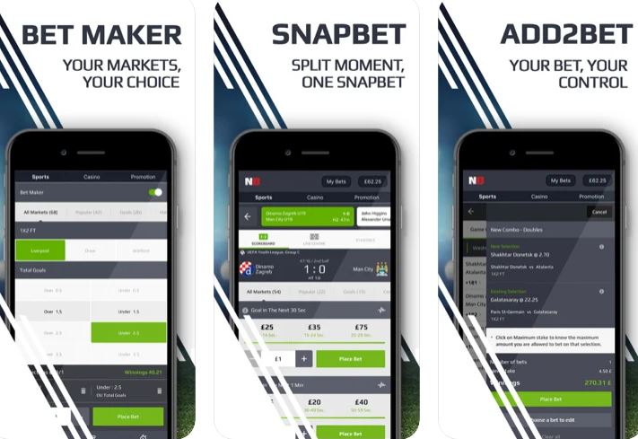 How to use the Netbet App