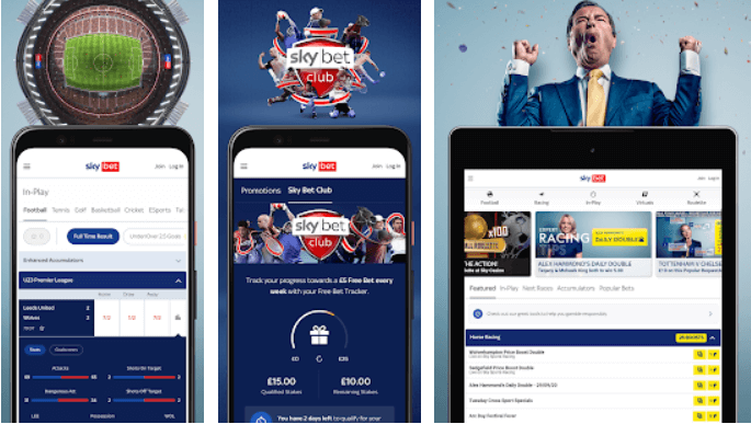 How to use the Sky Bet App