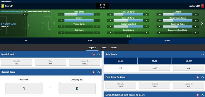 Betfred Live Streaming